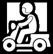 Scooter eléctrico de triciclo