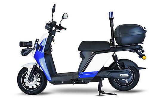 Scooter eléctrico de policía